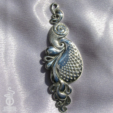 Image of 3D Paisley Pendant designed by unellenu