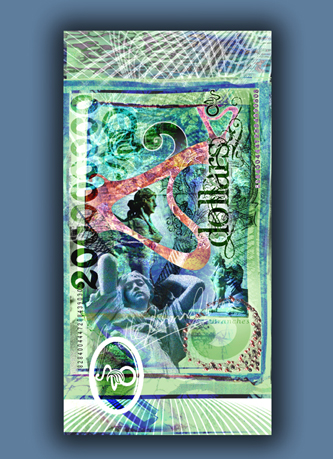 Image of 2D $2 design designed by unellenu