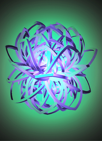Image of Lotus 3D design by Janelle Dehanne WIlson of unellenu