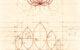 Image of Hand drawn geometric petals vesica